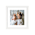 CUSTOM PERSONAL PHOTO AND SQUARE FRAME
