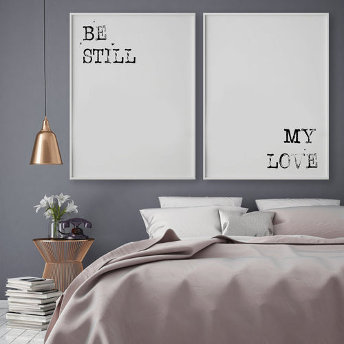 BE STILL MY LOVE GALLERY WALL