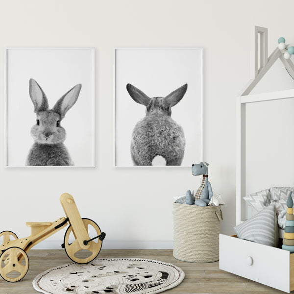 BUNNY GALLERY WALL