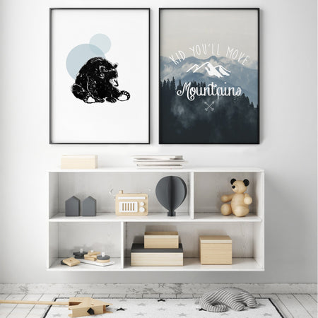 MOVE MOUNTAINS TRIO GALLERY WALL
