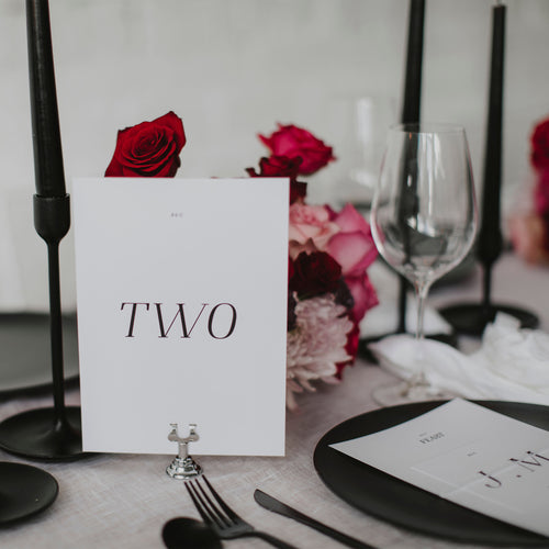 MAGGIE TABLE NUMBER