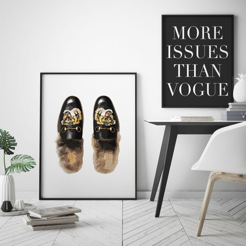 LOAFERS PRINT