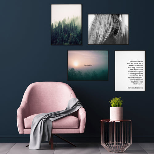 SERENITY GALLERY WALL