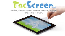 TacScreen Learning Screen & Screen Protector for iPad Large (12.04 x 8.69) Early Ed & Dyslexia