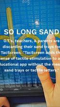 TacScreen Learning Screen & Screen Protector for iPad Gen 1-4, Early Ed & Dyslexia