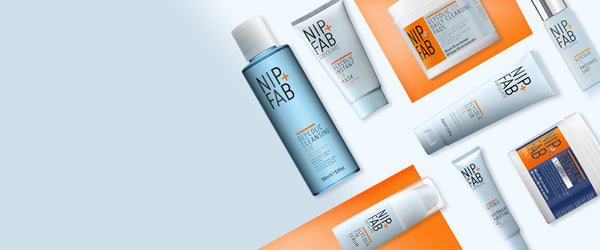 Nip+Fab Australia Glycolic fix exfoliating skincare collection