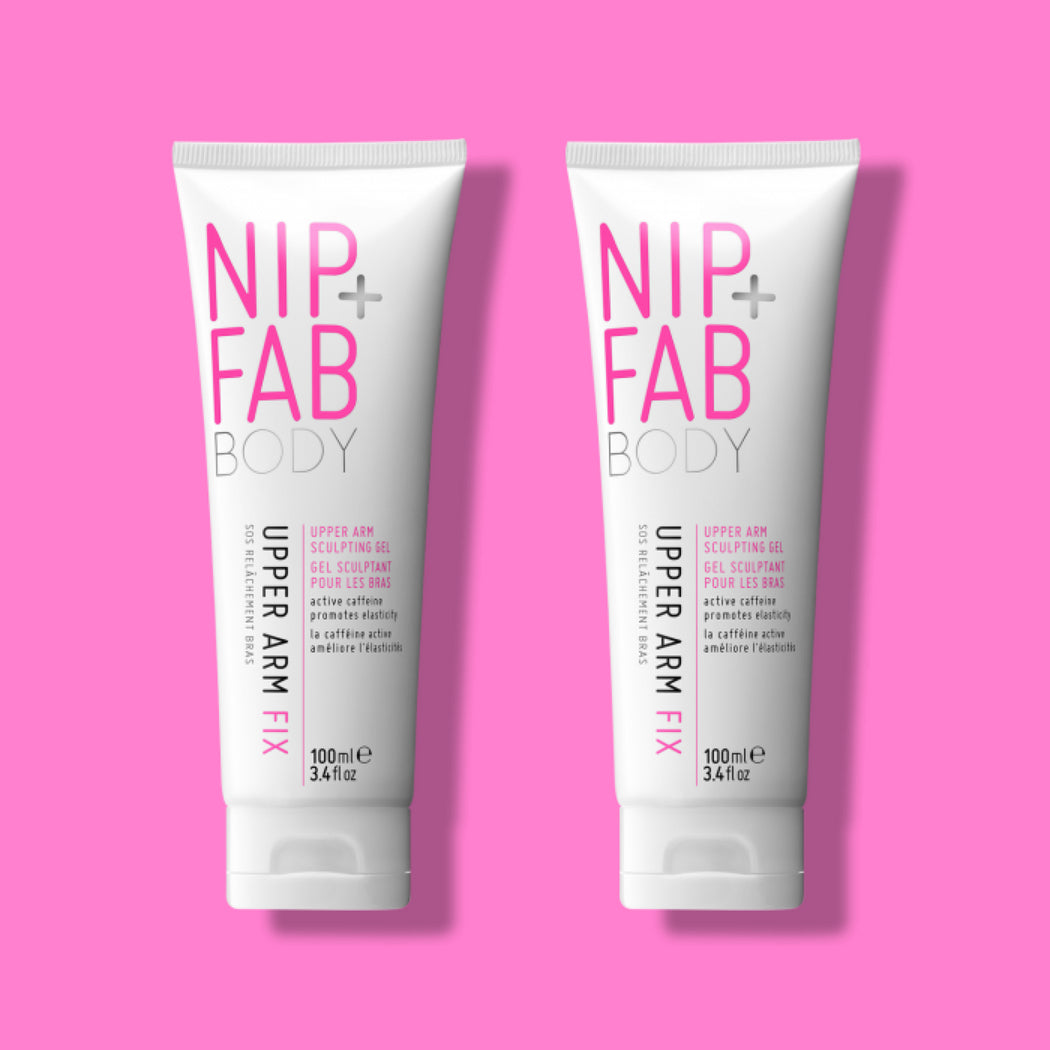 NIP+FAB UPPER ARM FIX BODYCARE SPECIALISED TREATMENT DUO PACK