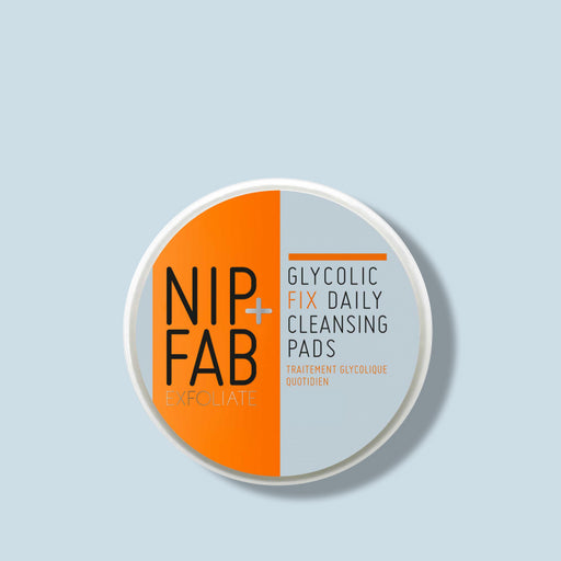 NIP+FAB BEST SELLING GLYCOLIC CLEANSING PADS TRIAL SIZE 5 PADS