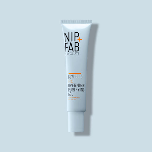 nip+fab GLYCOLIC FIX OVERNIGHT PURIFYING GEL TARGETED TREATMENT OF ACNE AND ENCOURAGE EXFOLIATION