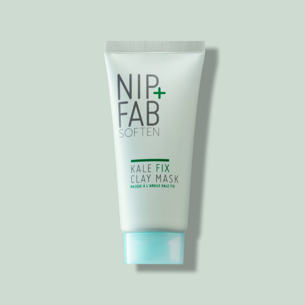 NIP+FAB KALE FIX CLAY MASK DEEP CLEANSING WHILE HYDRATING SKIN