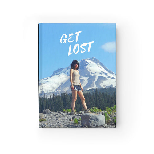 GET LOST Journal - Blank Pages