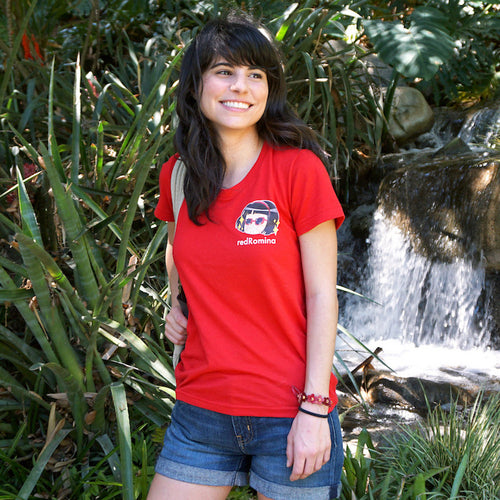 COOL Women's Short Sleeve Shirt Red