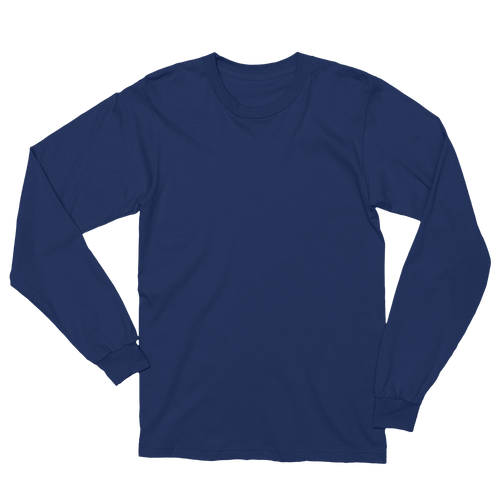 BASIC Men's Long Sleeve Navy