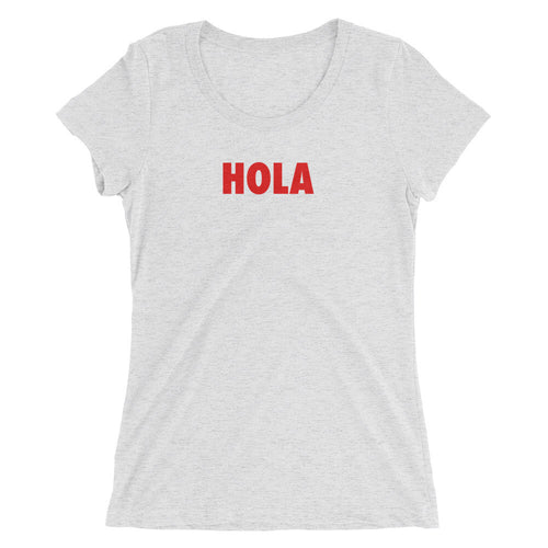 HOLA Women's Short Sleeve Shirt White