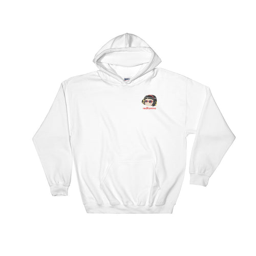 COOL Unisex Hooded Sweatshirt White