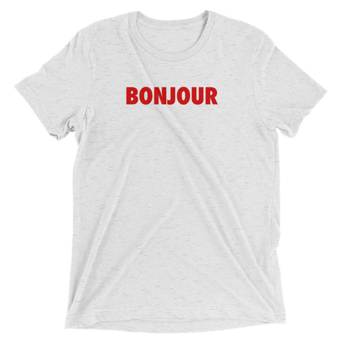 BONJOUR Men's Short Sleeve Shirt White