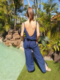 Ellie Pantsuit (new) - Navy