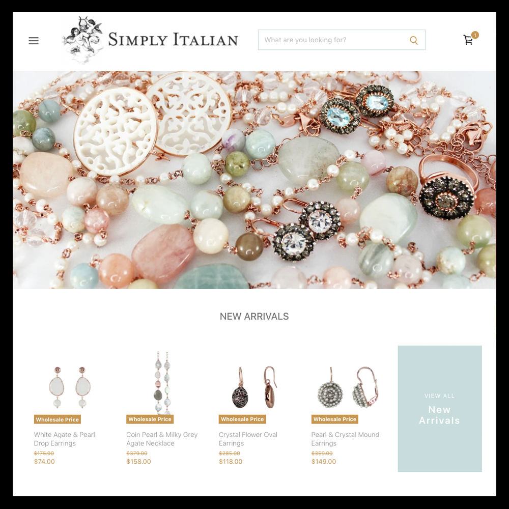 Simply Italian Wholesale