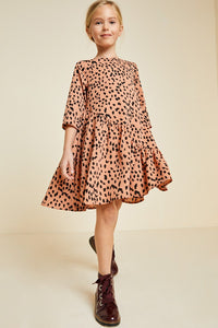 Dot Swing Dress Girls