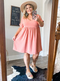 Summer Salmon Dress