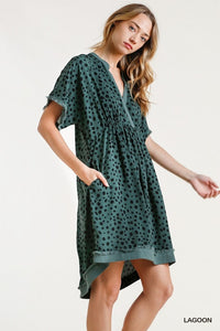 Lagoon Dotted Dress