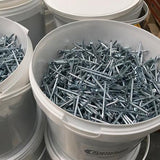 Concrete Nails 65mm Electro Galvanised 15kg tub