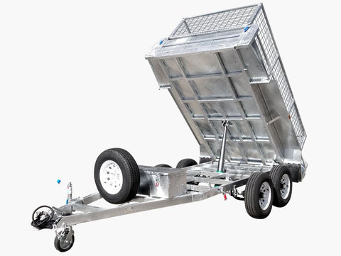 8x5 Hydraulic Tipper Trailer galvanised