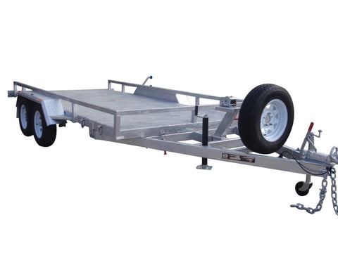 Car Trailer galvanised With Electric Winch