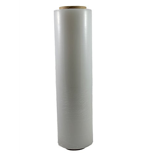 Single Roll Clear Shrink Wrap Stretch Plastic Furniture 20 In x 1000 Ft Moving