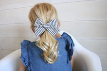 Fall Stripe Bow
