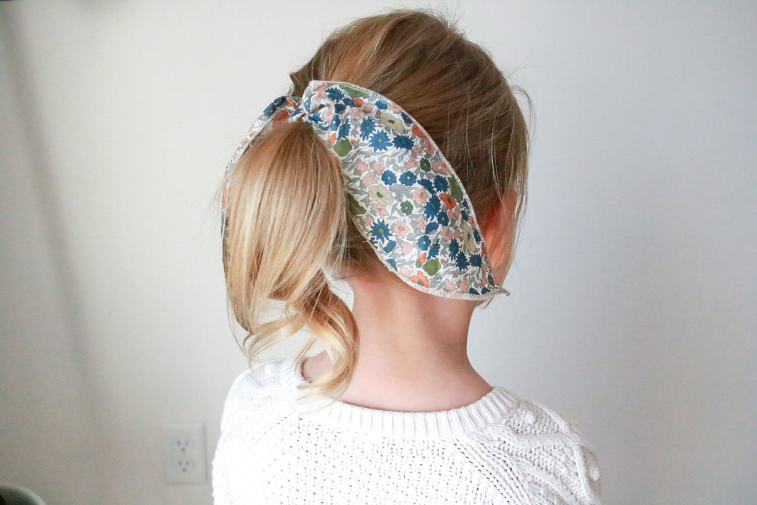 Fall Floral Hair Tie