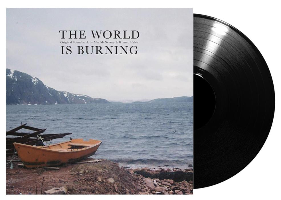 Mat McNerney & Kimmo Helén - The World Is Burning Soundtrack - Black Vinyl
