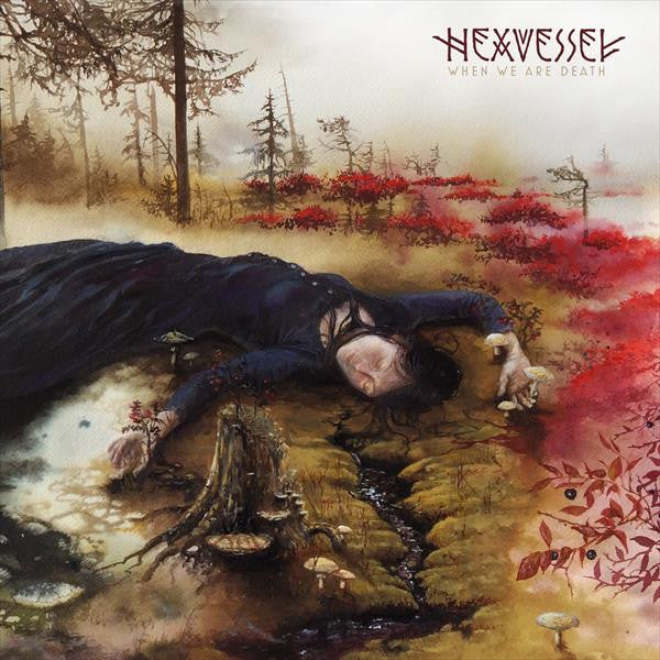 "Hexvessel ""When We Are Death"" (GATEFOLD BLACK LP+CD & LP-BOOKLET)"