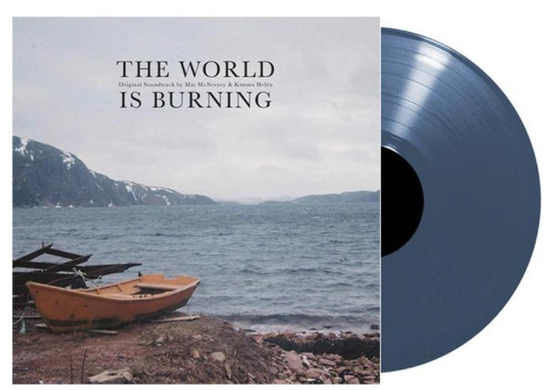 Mat McNerney & Kimmo Helén - The World Is Burning Soundtrack - LTD EDITION!! Blue Vinyl