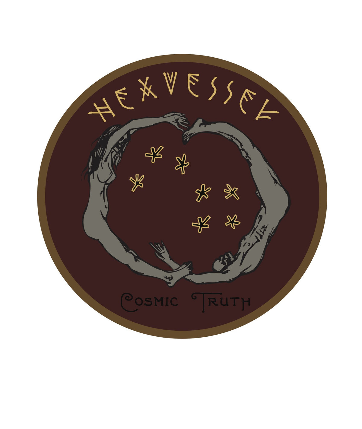 "Hexvessel ""Cosmic Truth"" Woven Patch"