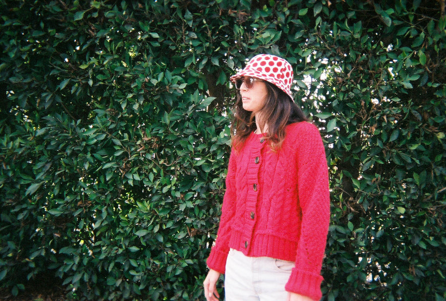Dotted Diana Bucket Hat