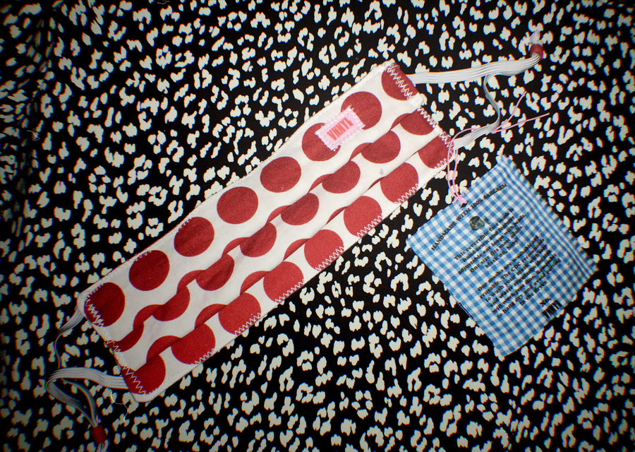 Dotted Diana & Red Picnic Reversible Mask