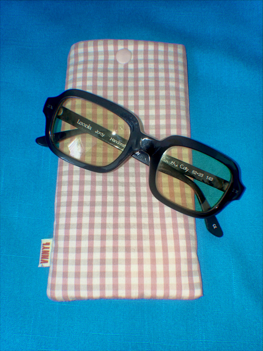 Dusty Rose Picnic Glasses Sleeve