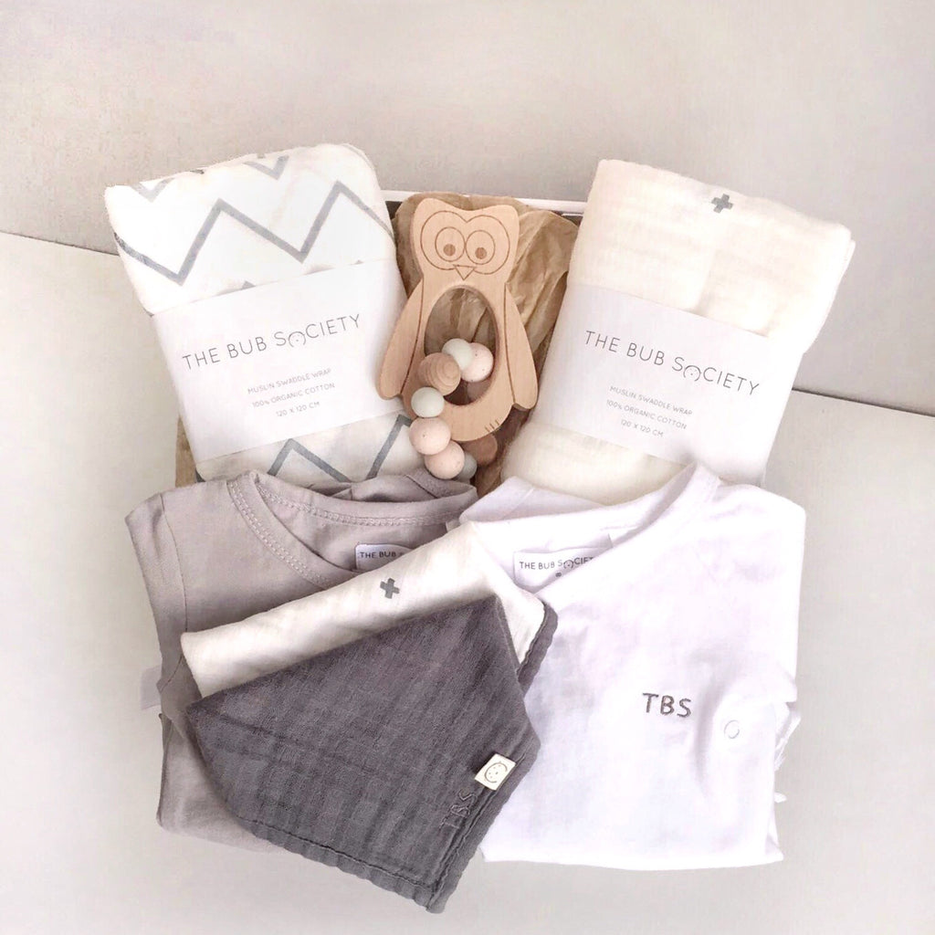 The bub society personalised organic baby gift box perth australia negle Image collections