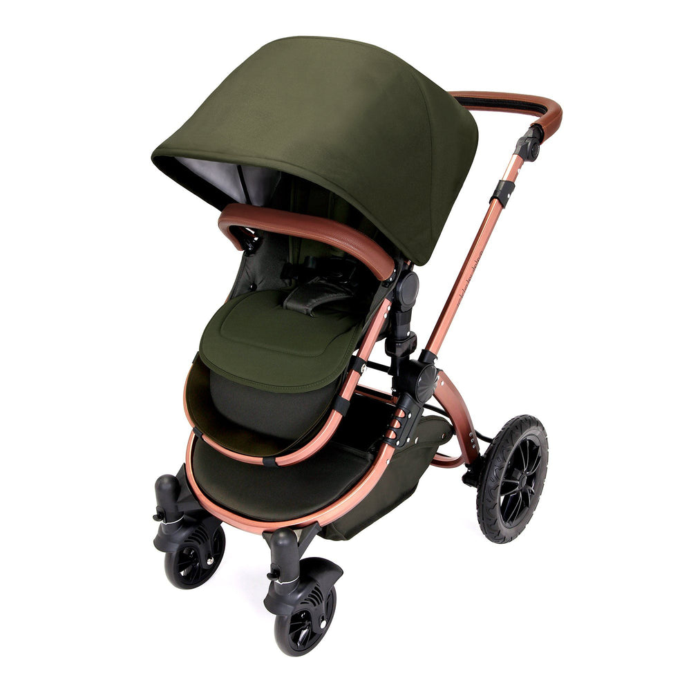 Ickle Bubba Stomp V4 Special Edition 2-in-1 - Woodland/Bronze - Pushchair Expert