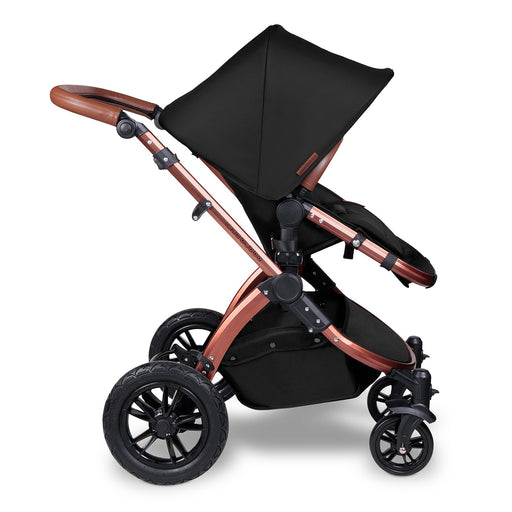 Ickle Bubba Stomp V4 Special Edition 2-in-1 - Midnight/Bronze - Pushchair Expert