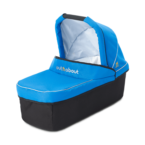 Out'n'About Carrycot Single Lagoon Blue - Pushchair Expert