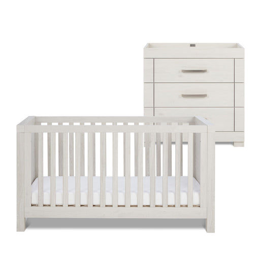Silver Cross Coastline Furniture - Cot Bed and Dresser - Pushchair Expert