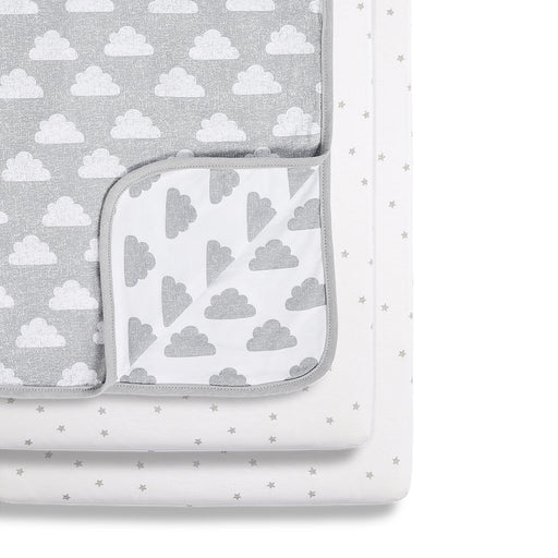 Snuz 3pc Crib Bedding Set - Cloud