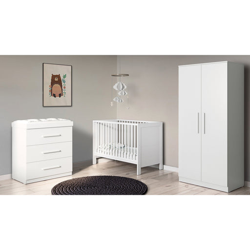 Ickle Bubba Grantham Mini 3-piece furniture set - Brushed White