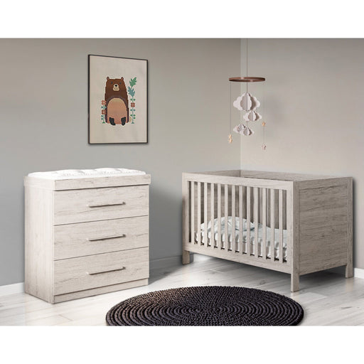 Ickle Bubba Grantham 2-piece furniture set - Grey Oak