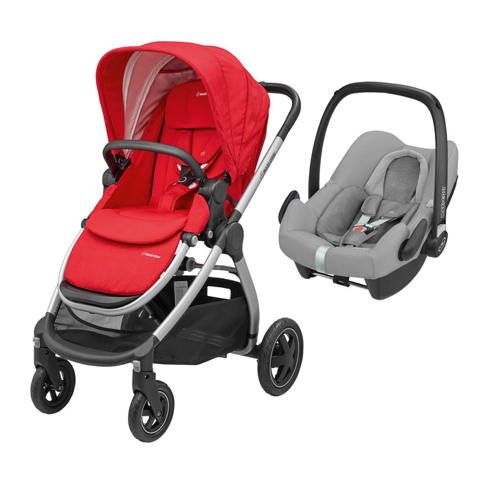 Maxi-Cosi Adorra - Nomad Red with Rock car seat