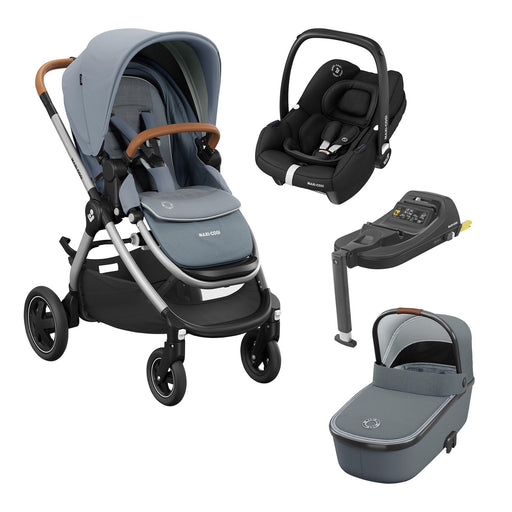 Maxi-Cosi Adorra 2 travel system bundle - Essential Grey