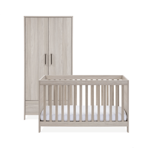 Silver Cross Ascot Furniture - Cot Bed and Wardrobe