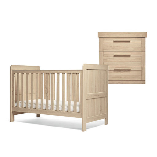 Mamas & Papas Atlas 2-Piece Room Set - Light Oak